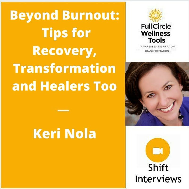 Beyond burnout tips for recovery transformation and