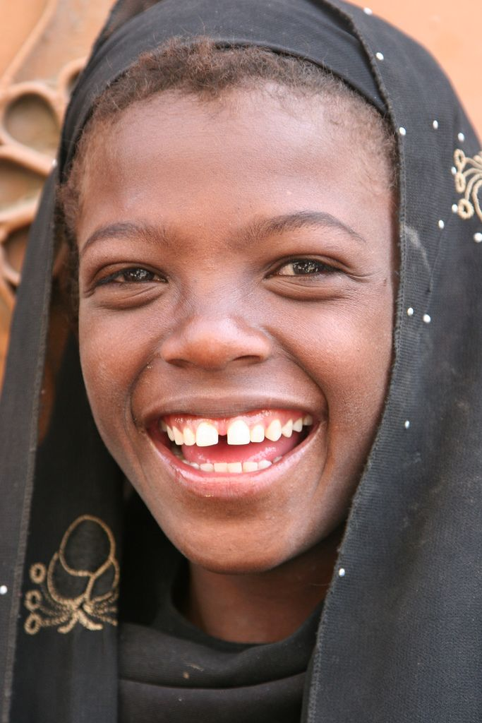 a big smile from Yemen   Beautiful smile Just smile ...
