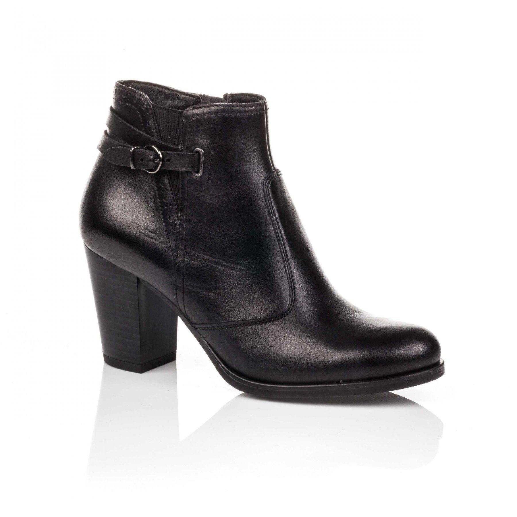 12f880822c6 Boots   Bottines femme noir en 2018