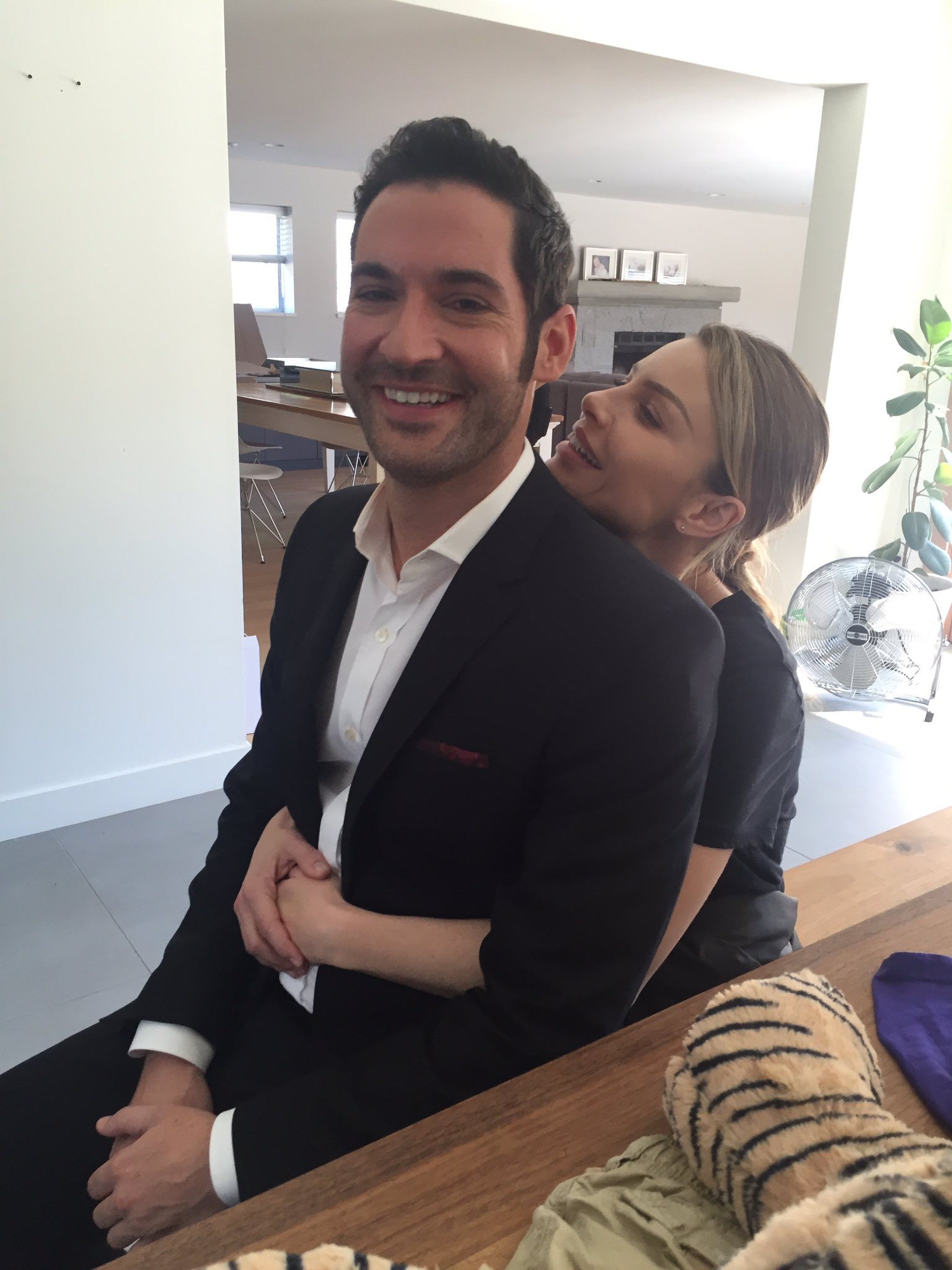 Tom Ellis & Lauren German | Lucifer morningstar, Lauren ...