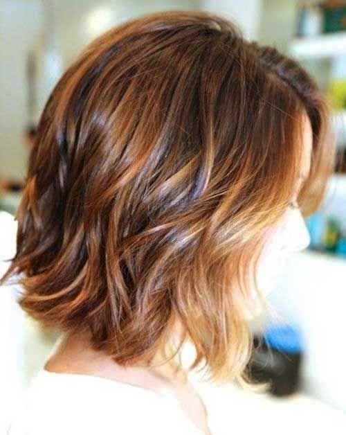 20 Bob Haircut pour les filles Coupes De Cheveux Mi
