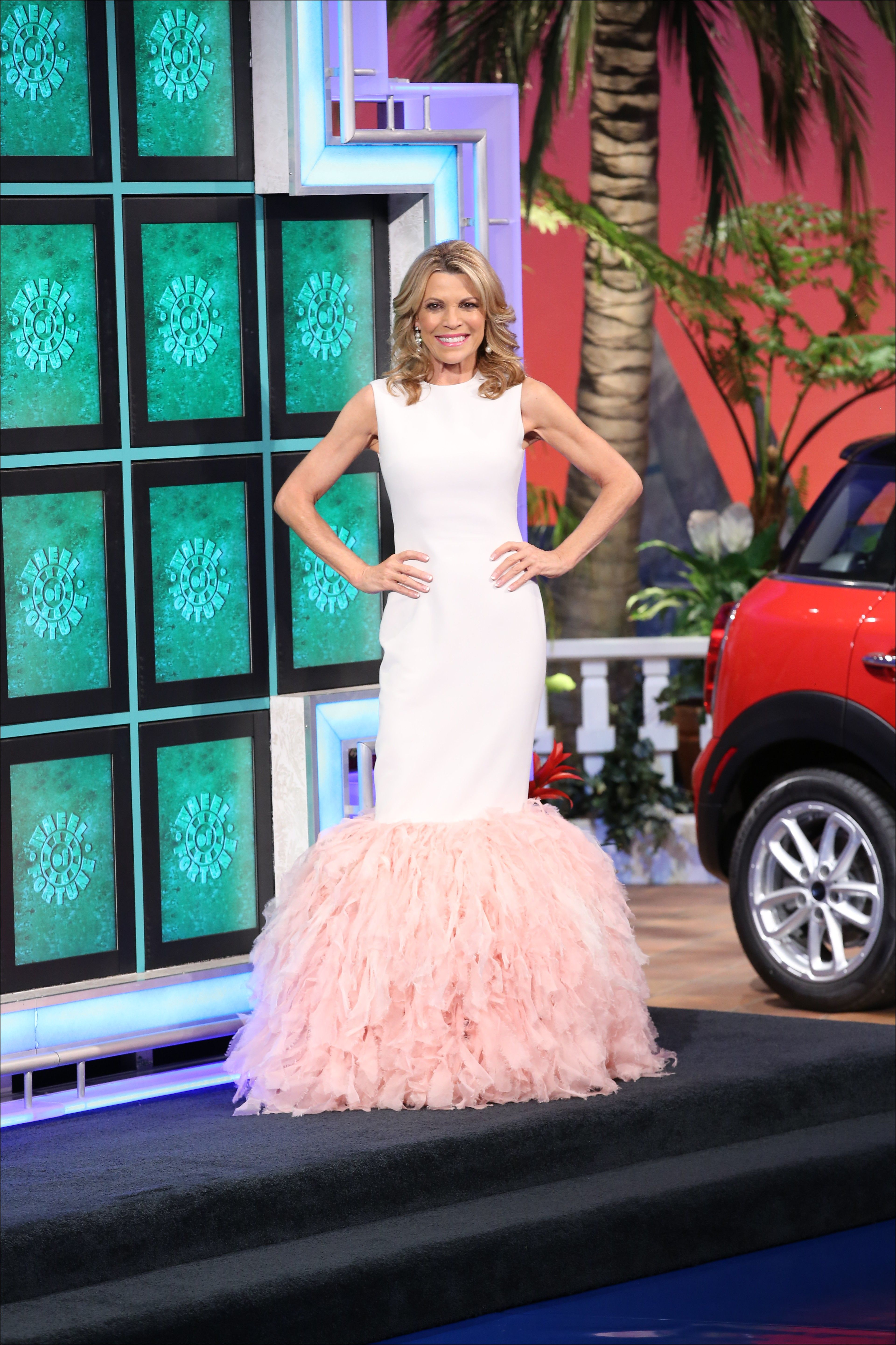 Vanna white gowns dresses and gowns ideas pinterest white