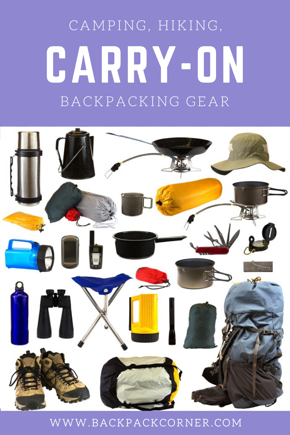 Uk Backpacking Possibles Kit Manual Guide