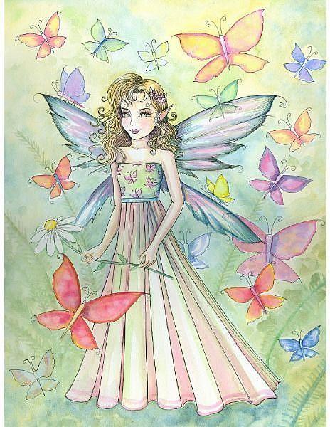 Molly Harrison Land of Butterflies - fairy art