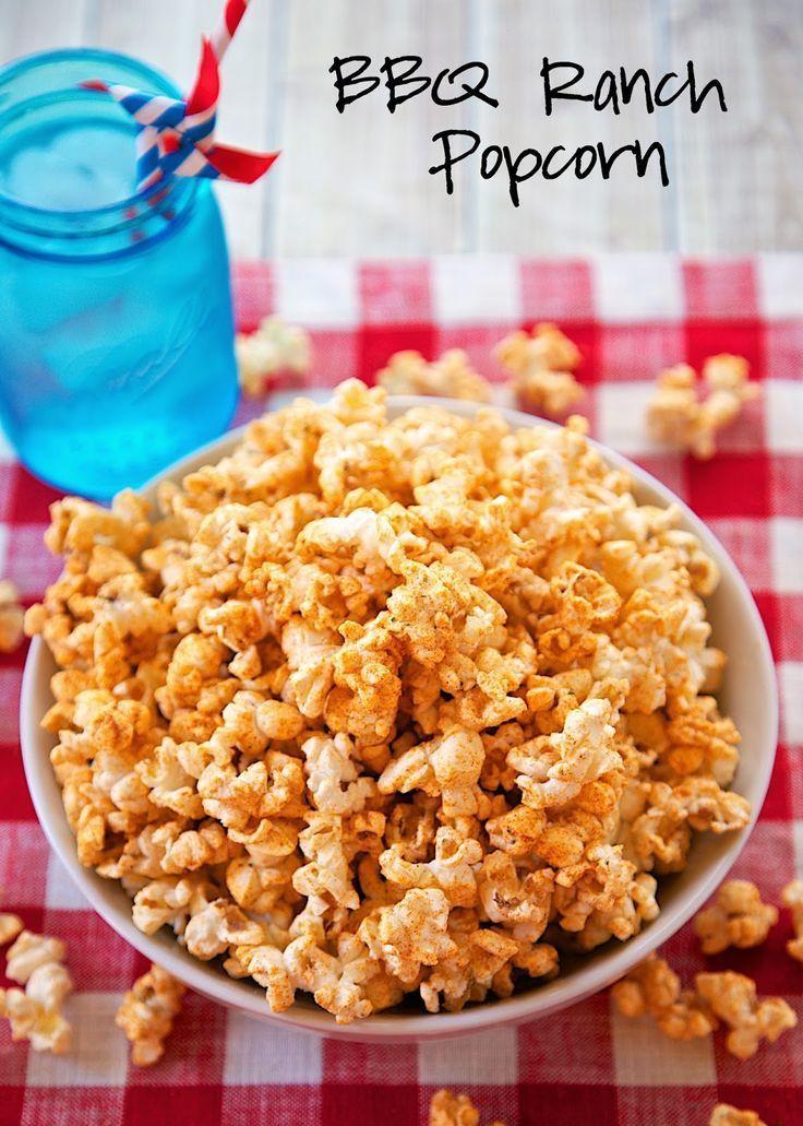 Bbq ranch popcorn recipe microwave popcorn seasoned with