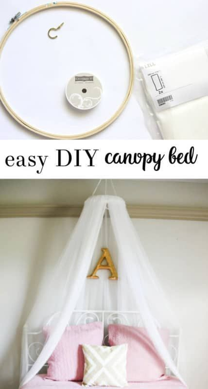 Diy Bed Canopy An Easy Way To Make Your Own