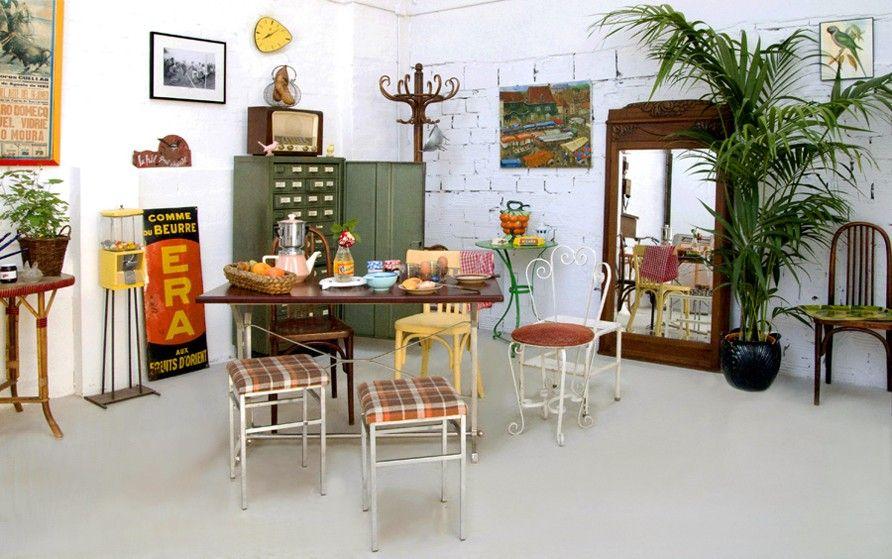 Déco vintage, mobilier vintage, meubles vintage, meuble vintage - Idee Deco Maison De Campagne