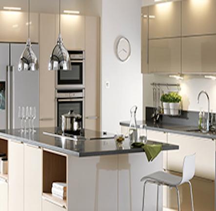 Best B Q It Santini Gloss Grey Slab Kitchen Kitchen Compare 400 x 300