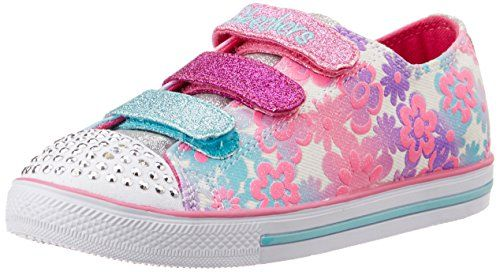 ca474df71d1c Skechers Kids Chit Chat-Glint and Gleam Light-Up Sneaker