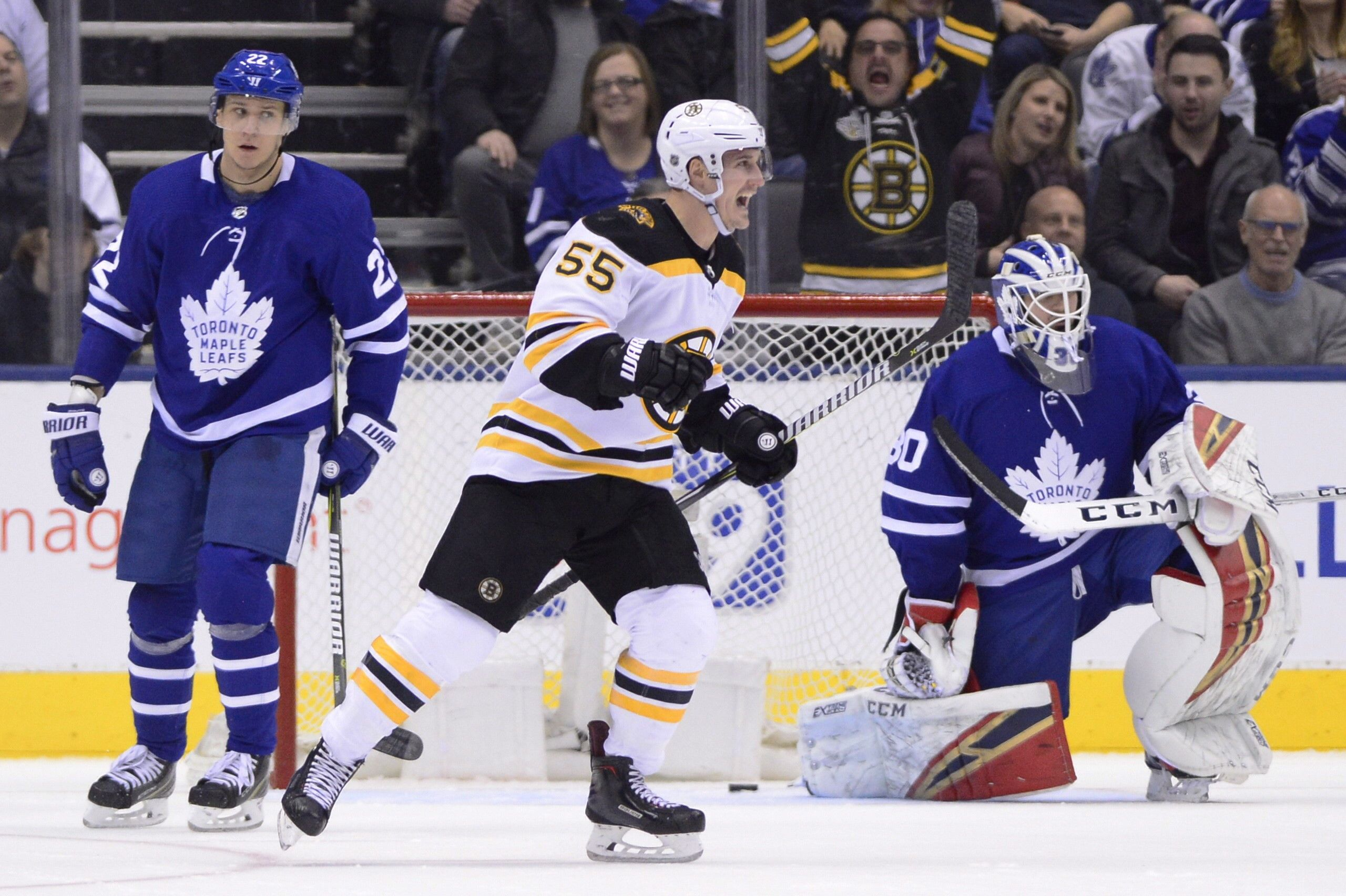 Bruins still have Maple Leafs' number Maple leafs