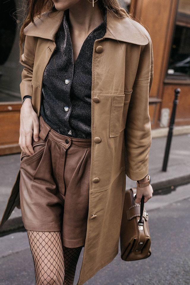 PFW Day 2: Neutrals in 70's Style