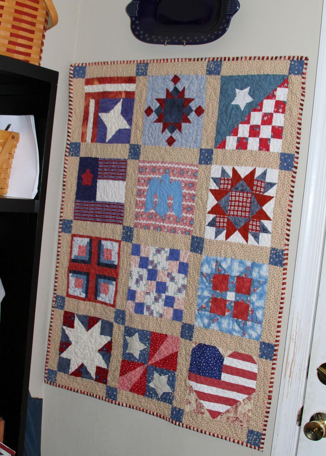 Quilt Americana #quilt Quilts Patriotic