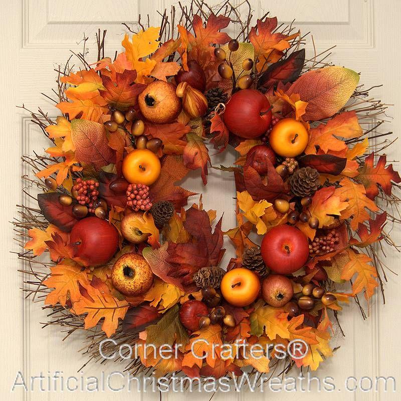 Artificial Christmas Wreaths, Fall