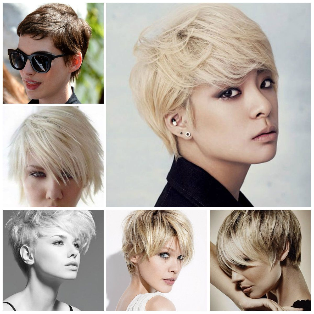 Short hairstyles trendy short hairstyles for women - Trendy Hairstyles 2015 2016 For Long Medium And Short Hair
