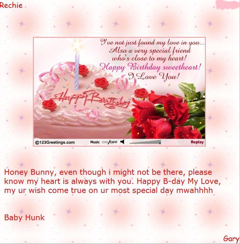 123greetings Birthday Cards My Birthday – 123 Greetings Birthday Ecards for Lover
