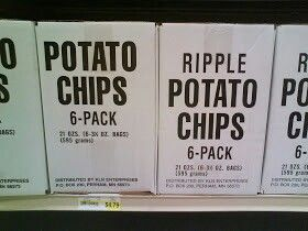 Generic packaging of potato chips