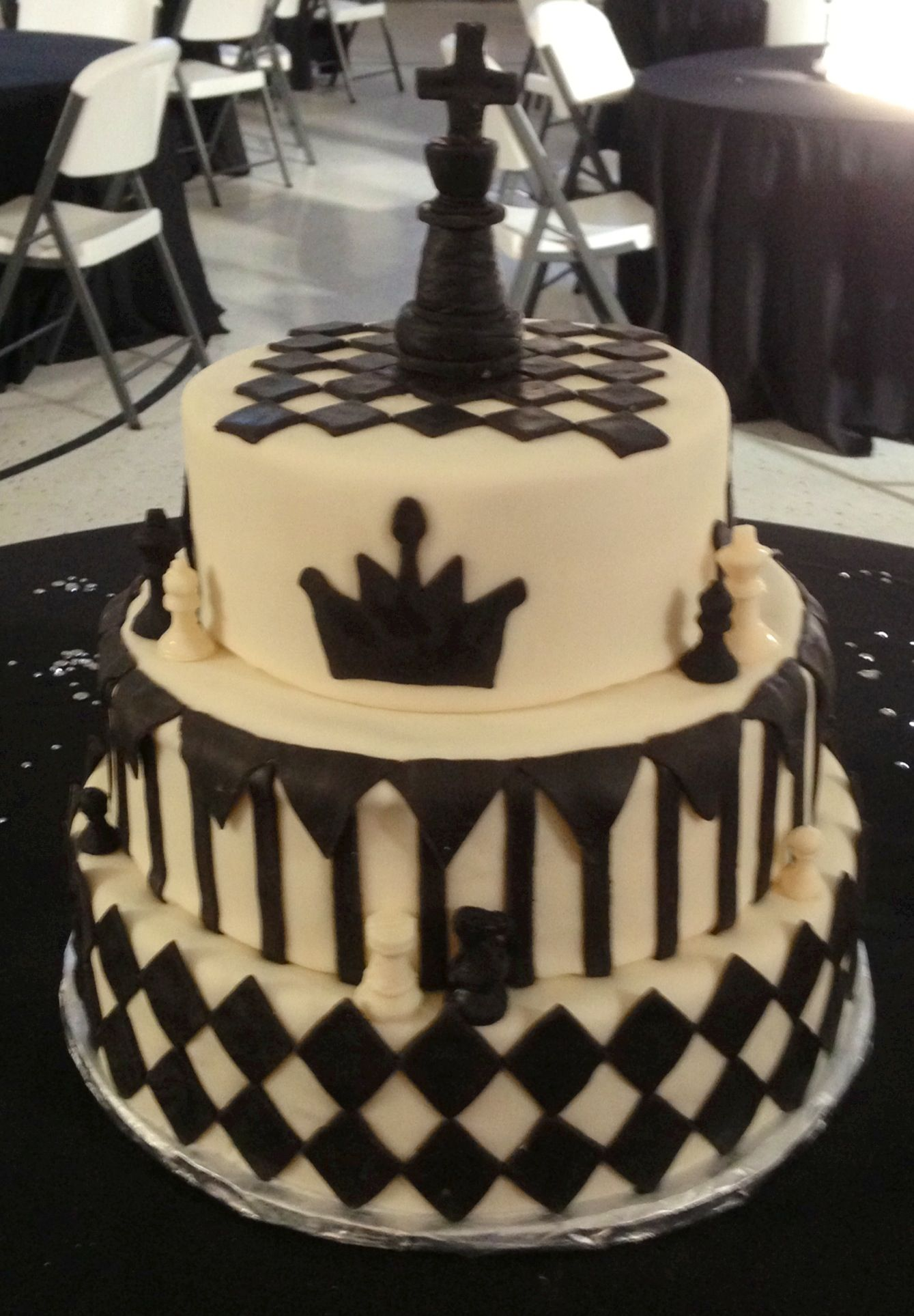 chess birthday cake ideas for adults
