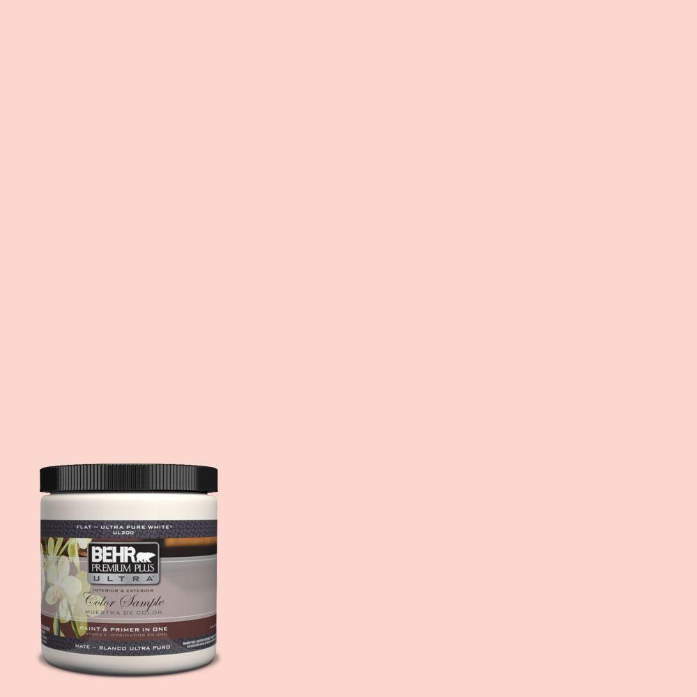 BEHR Premium Plus Ultra 8 oz. #170C-2 Creamy Peach Matte Interior ...