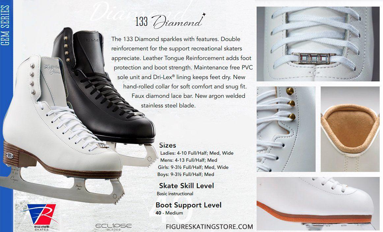 Riedell Model 133 Diamond Men/'s Ice Skates