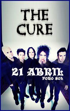 The Cure - Domingo 21 de abril - Foro Sol, México, D.F.