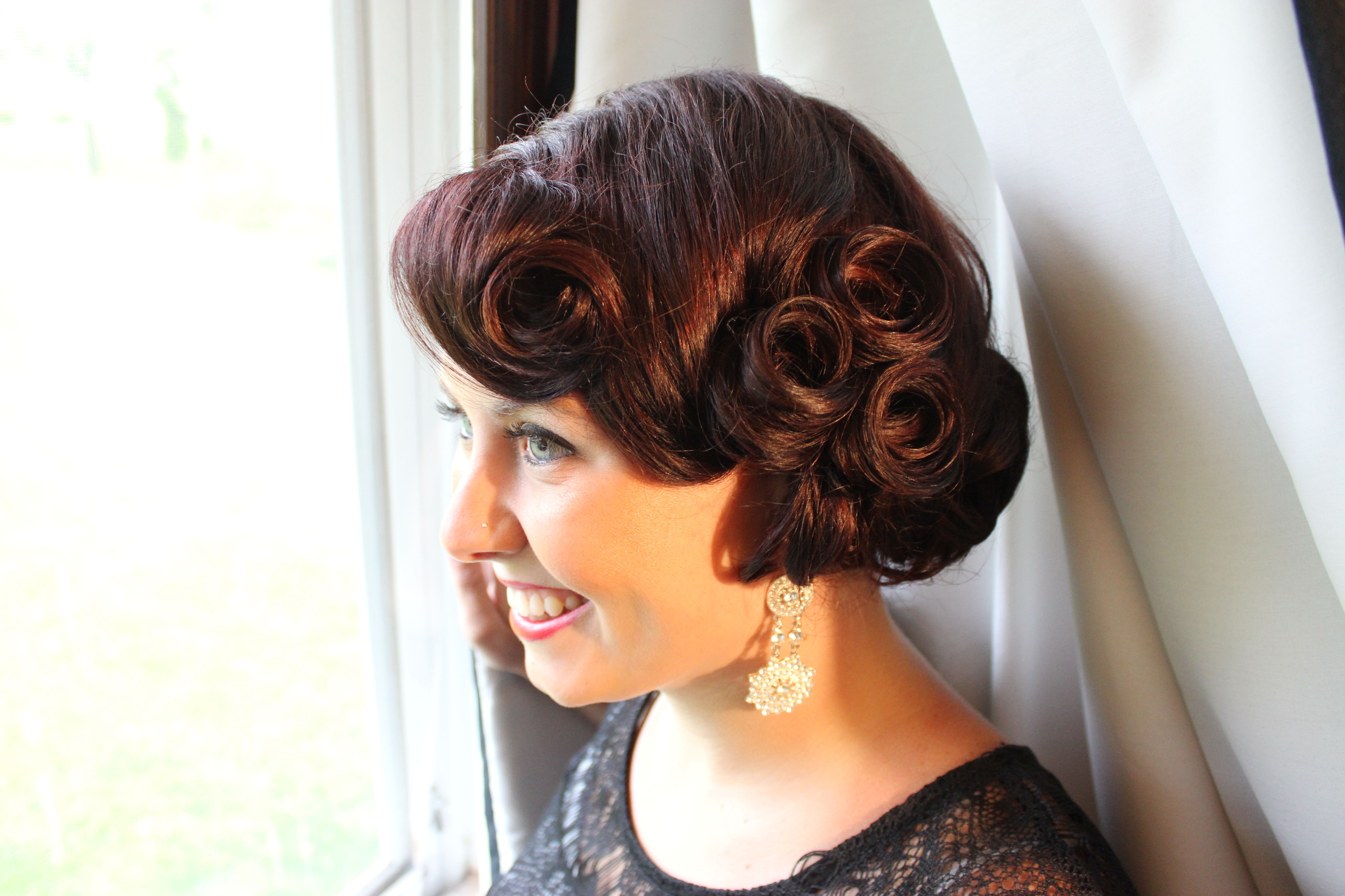 Vintage Updo. Wedding updo. Classy updo. Wedding hair ...