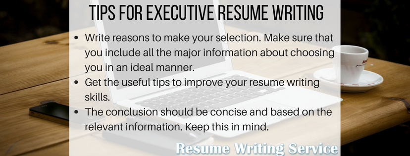 what should i learn from executive resume writing service