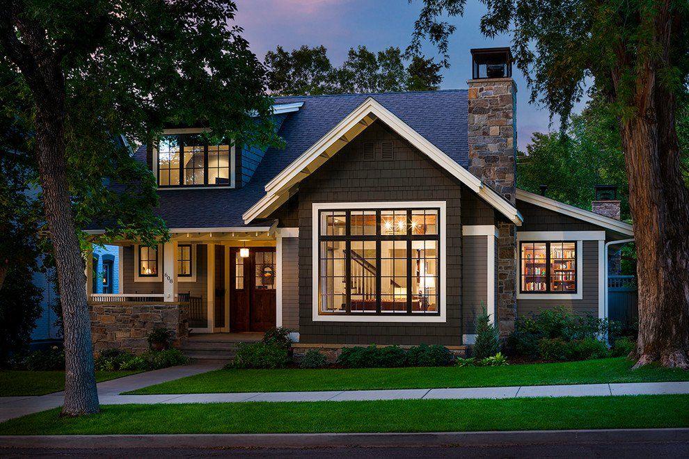 15 Inviting American Craftsman Home Exterior Design Ideas Craftsman Home Exterior Small House Exteriors House Designs Exterior