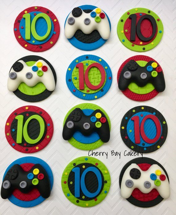 Prime Video Game Cake Topper Controller Topper Gamer Birthday Cake Funny Birthday Cards Online Alyptdamsfinfo