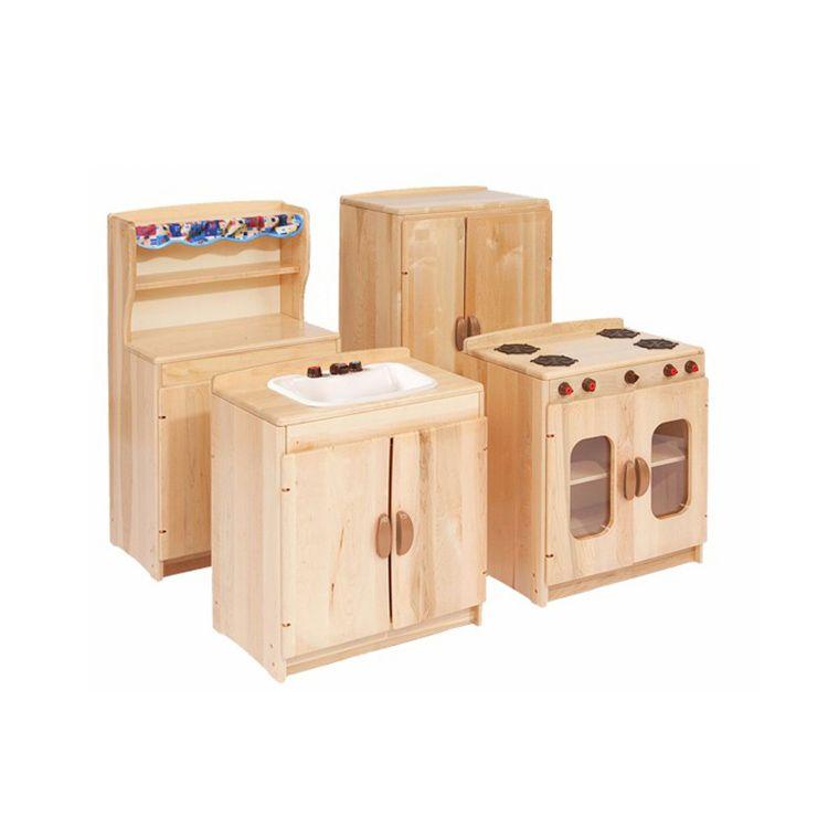Montessori Nursery School Furniture Sale Kids Wooden Pretend ...
