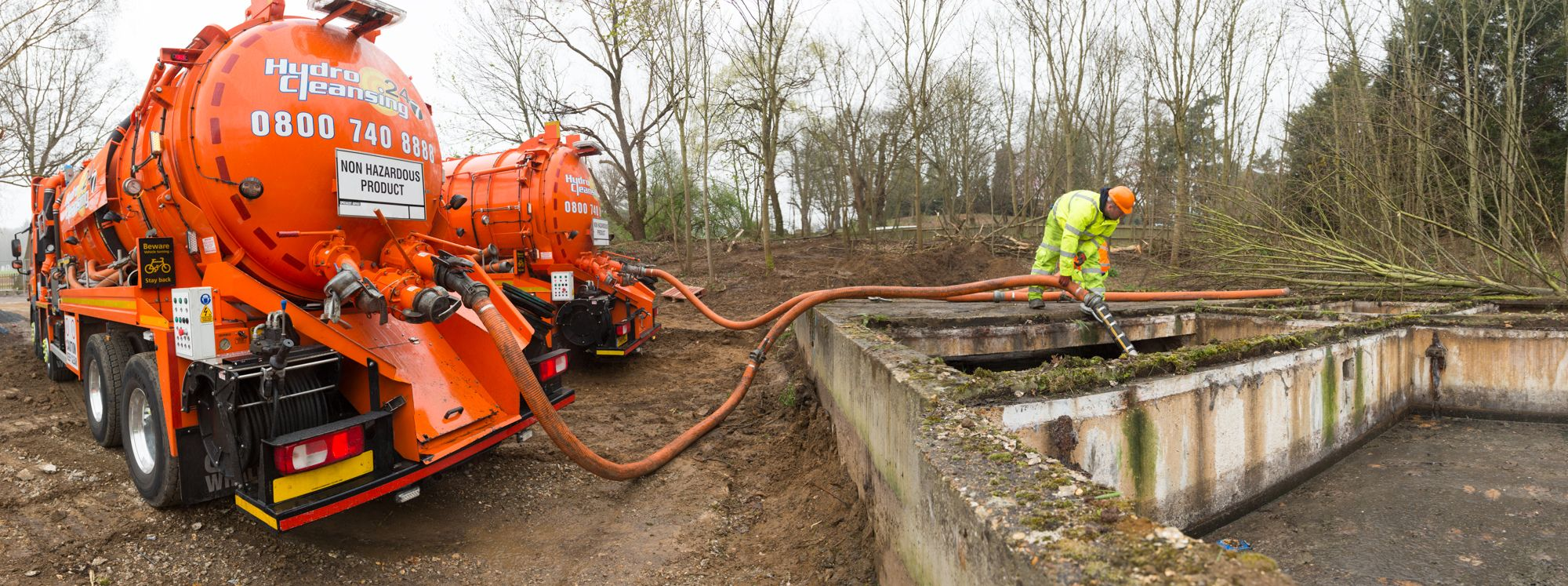Wet waste removal Septic tank, Septic tank service
