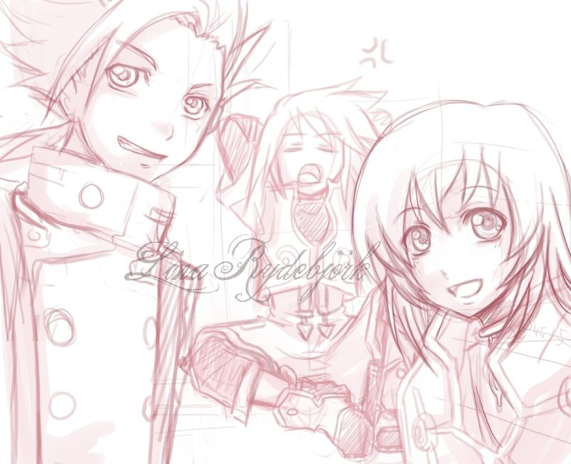 Tales of S- friends 4ever by ~Lasaro on deviantART