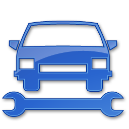 Free Icons for Commercial Use | Car Repair Blue 2 Icon