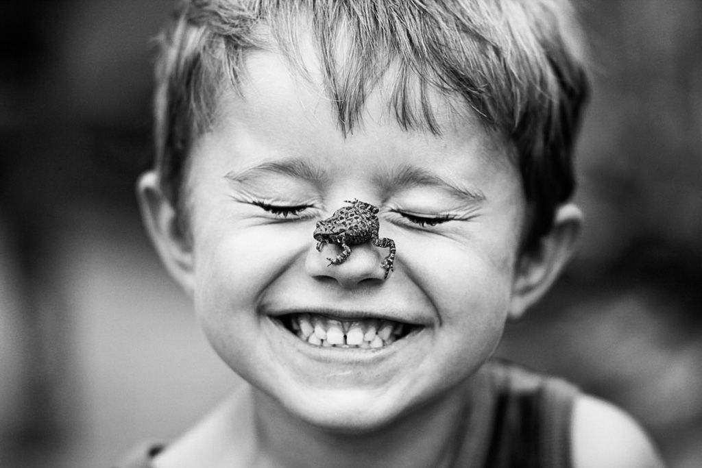 Black And White Happiness Photography