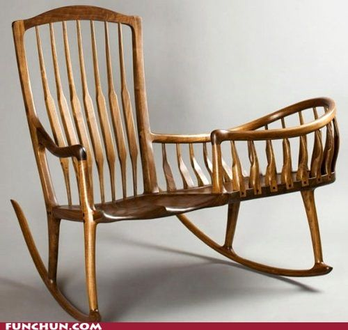 Funny Chair Funny Pics And Videos Wooden Rocking Chairs