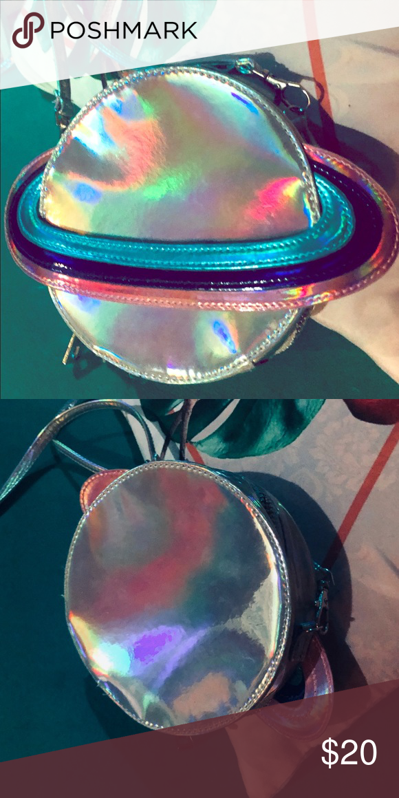 Saturn holographic purse This purse is out of this world