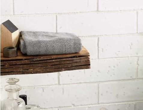 Create The Illusion Of Painted Brick With Waterworks Grove Brickworks Field Tile Remodelista