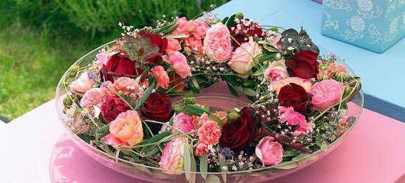 Photo of Fascinerende rose: frodig blomsterkrans til sommerbordet