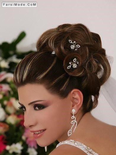 مدل شینیون مو دخترانه مخصوص میهمانی و مجالس | Hair: Formal Updos ...