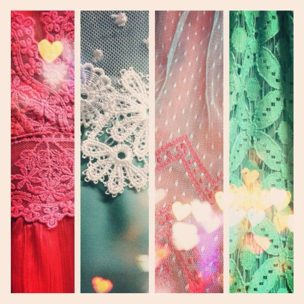 some lovely #lace textures