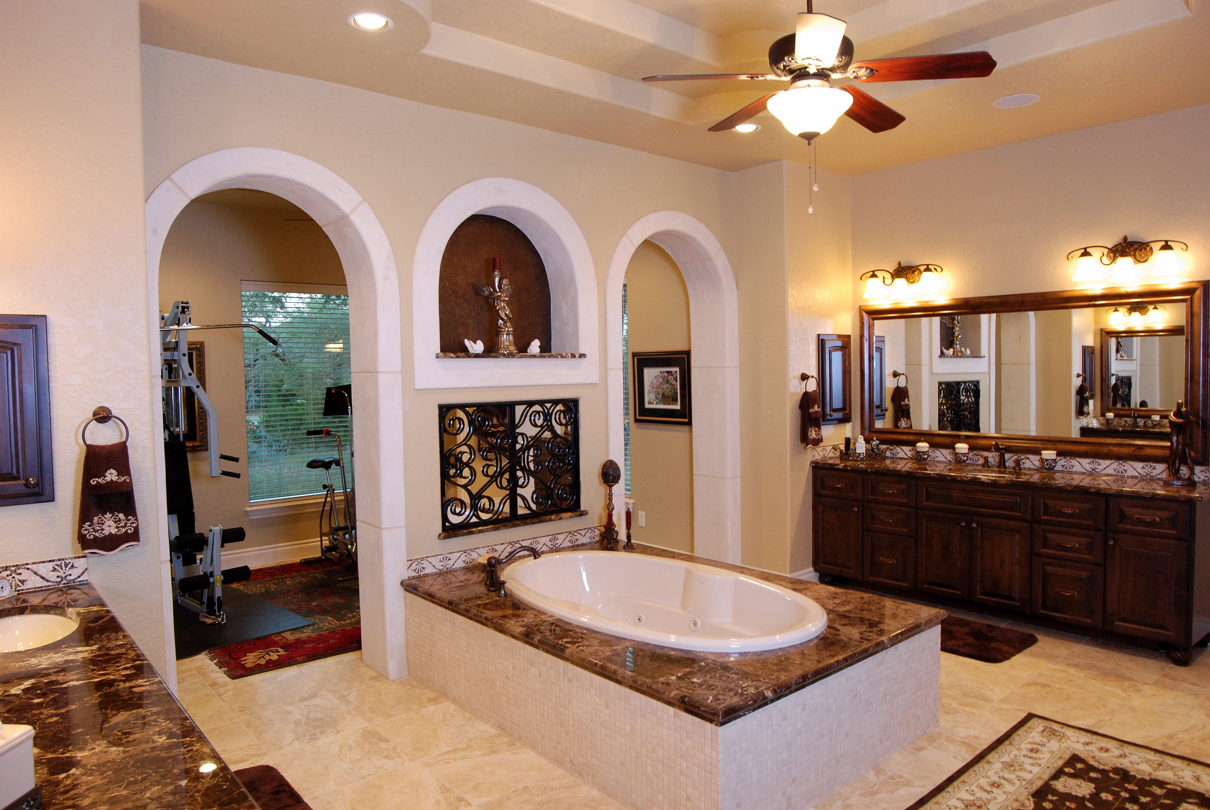 Mediterranean Bathroom Design Entrancing Master Bath Stadler Custom Homes #stadler #custom #homes #master Design Ideas