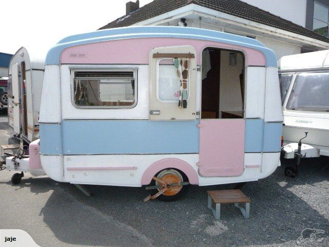 1 Reserve Retro Style 11ft 1968 With Awning Trade Me Vintage Travel Trailers Vintage Campers Trailers Vintage Camper
