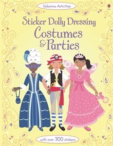 Usborne Books More Sticker Books Dolly Dress Sticker Book Fancy