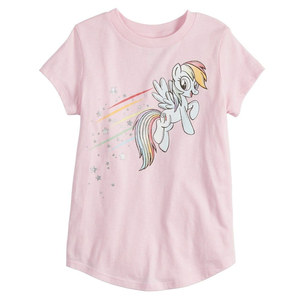 9dec64ad494 Girls 4-12 Jumping Beans® My Little Pony Rainbow Dash Graphic Tee, Size:  12, Pink