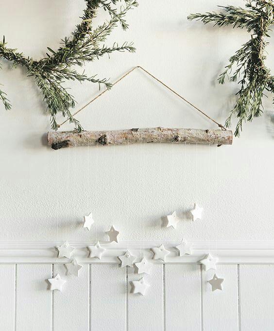 Weihnachtsdeko Fur Die Kleine Flurecke Christmas Pinterest