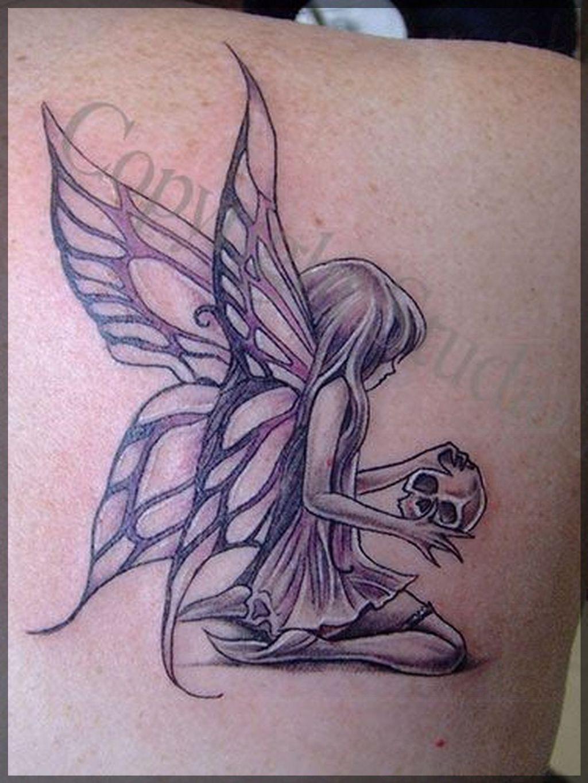 Fantasticos Disenos De Tatuajes De Angeles Tatuaje De Hadas Tatuajes Duendes Disenos De Tatuajes De Hadas