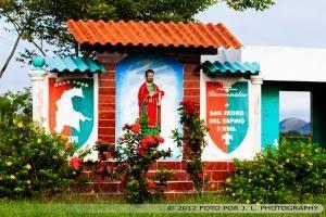 Santo de bienvenida a San Pedro del Espino (Veraguas)