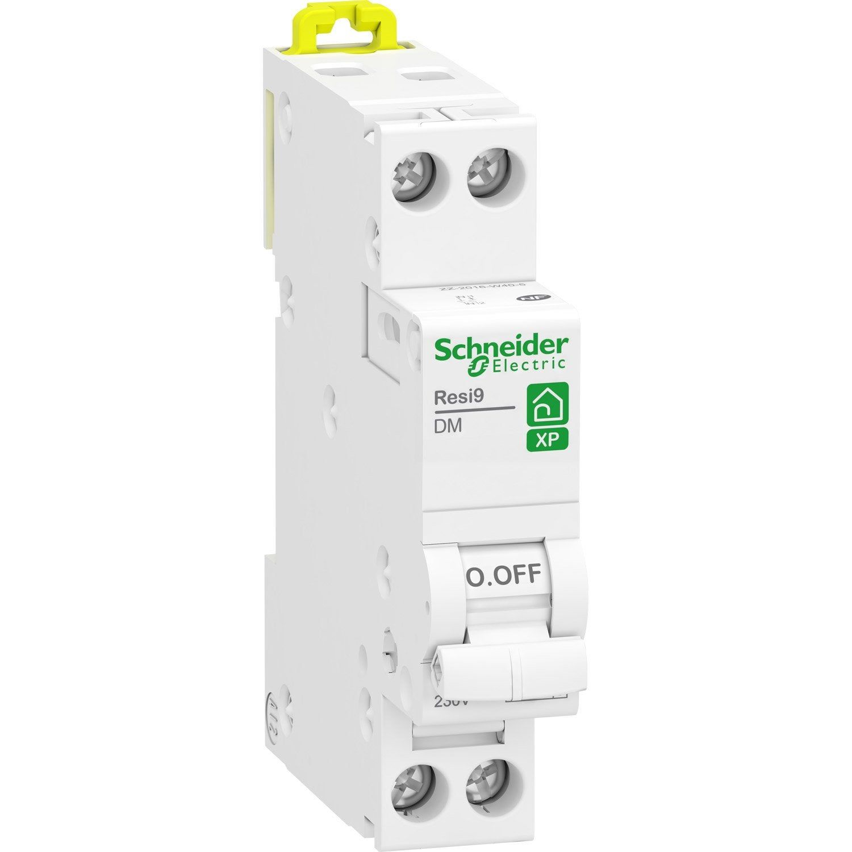 Disjoncteur Phase Neutre Schneider Electric 32 A Neutre Modulaire Et Lave Linge