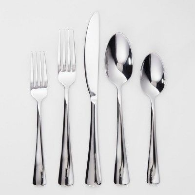 Pike 20pc Silverware Set Threshold With Images Silverware
