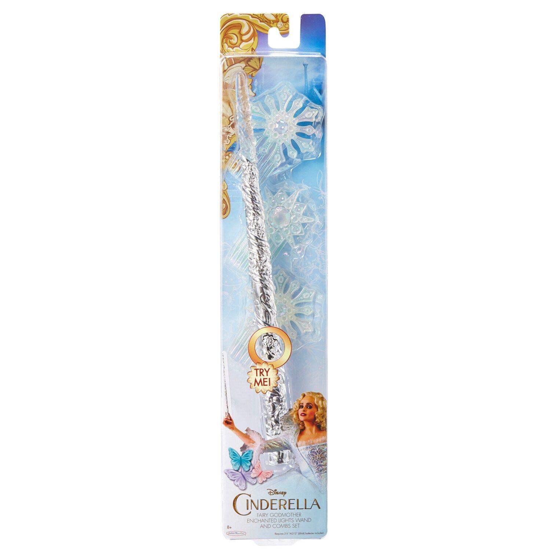 Disney S Cinderella Fairy Godmother Enchanted Wand Combs Set