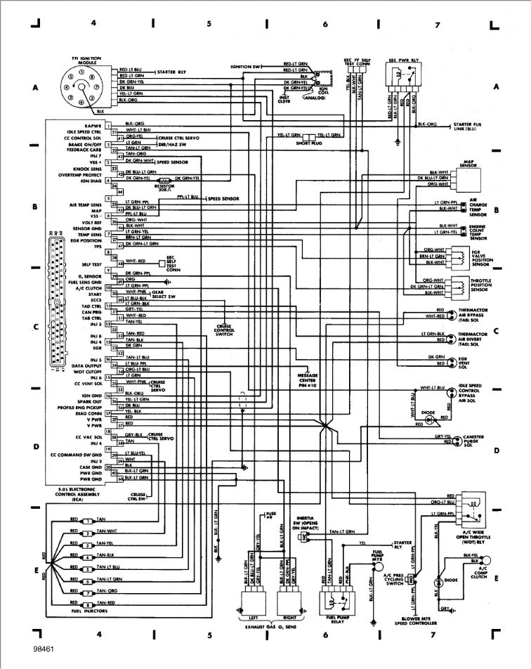 12  1997 Lincoln Town Car Air Ride Wiring Diagram Car